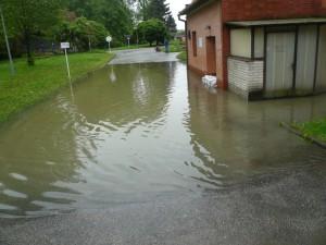 Sanace budovy po povodni